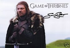 SEAN BEAN AUTOGRAPH SIGNED PP PHOTO POSTER