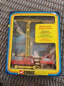 Corgi Major 1155 Skyscraper Tower Crane (Boxed)