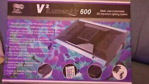 Tmc Ilumenair v2 600 led aquarium light remote control