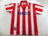 CAMISETA CLUB ATLETICO MADRID - Temporada 1997/1998. Usada. Talla XL. Puma
