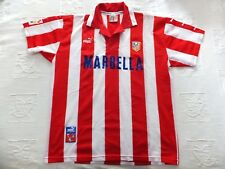 CAMISETA CLUB ATLETICO MADRID - Temporada 1997/1998. Usada. Talla XL. Puma