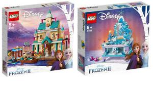 2er Set LEGO Disney Eiskönigin 2 Frozen 41167+41168, NEU