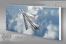F.3 Lightning 29 Squadron RAF Wattisham CANVAS PRINT, Digital Artwork.