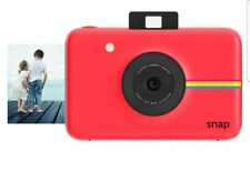 Polaroid Snap Red Instant Print Digital Camera Touchscreen Display Zink Zero NEW
