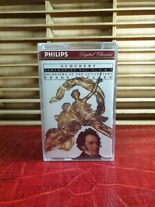 PHILIPS : SCHUBERT SYMPHONIES NOS.2,3 & 5 : FRANS BRUGGEN : NEW & SEALED