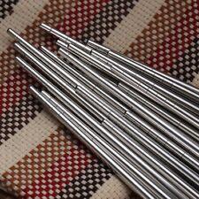 Metal Chopsticks 5 Pairs/Set Food Sticks Sushi Hashi Baguette Stainless Steel
