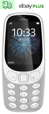 "Movil nokia 3310 (2017) Dual SIM gris Grey 2,4"" tn Bluetooth radio FM Brand New"