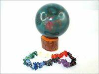 Bloodstone 45 - 50 mm Ball Sphere Gemstone A+ Hand Carved Crystal Altar