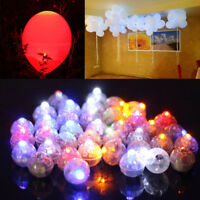 Battery Powered Mini LED Light Ball Glowing Light Party Favor Balloon Filler Toy