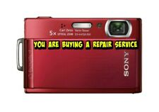 SONY T200 or T300 CAMERA REPAIR SERVICE-60 DAY WARRANTY-FREE RETURN SHIPPING