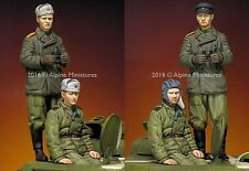 ALPINE M 35216 Russian Tank Crew WW2 2 Figure Set 1/35th non peinte Kit
