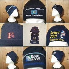 *2 Holes!* Nice Bundle 4 x Navy Blue & Black▪WINTER HATS▪Sports Themed~Outdoors