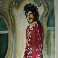 Signed AYA Parfonova Extra Large abstract Freddie Mercury QUEEN 32x16