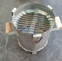 Iron Angeethi Coal / Wood Fire Indian Portable Brazier Outdoor Party Barbecue