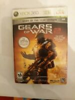 Xbox 360 Gears Of War 2 Game Of The Year Edition collectable gaming