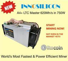 Innosilicon A4+ LTC Master ASIC Scrypt Miner620Mh/s750W (local CA) IN STOCK