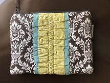Tablet kindle Cover, The Pleated Poppy, Handmade, Zip, Padded, New