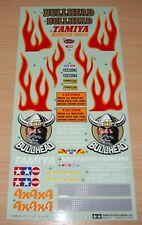 Tamiya 58089 Bullhead/58535 Bull Head, 1425172/9495111 Decals/Stickers, NEW