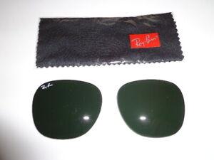 Rayban Sunglass Lenses RB 3016 Clubmaster 51 Eye G15/Gray Glass Lenses