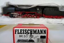 Fleischmann HO/DC 4174 Dampf Lok BR 50 1797 DB (CQ/546-69R7/16)