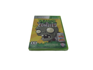 Plants Vs Zombies Microsoft Xbox 360 2010 Game New Factory Sealed