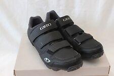 New Men's Giro Carbide R Cycling Shoes MTB SPD EU 43 US 9.5 $110 Black 2 Bolt