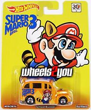 School Busted - Super Mario Bros 3 - 2015 Hot Wheels Pop Culture REAL RIDER