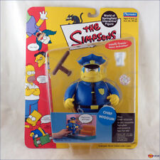Playmates WOS The Simpsons Chief Wiggum Series 2 Interactive Figure