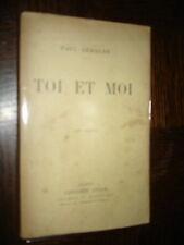TOI ET MOI - Paul Géraldy 1926
