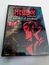 """DVD """"HELLBOY ANIMATED SWORD OF STORMS"""" COMO NUEVO MIKE MIGNOLA GUILLERMO DEL TOR"""