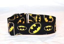 "2"" Martingale Dog Collar Batman"