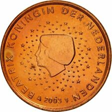 [#461416] Nederland, 5 Euro Cent, 2003, UNC-, Copper Plated Steel, KM:236