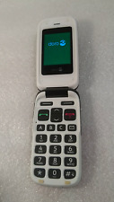 Téléphone portable mobile Seniors DORO PhoneEasy 610 marron clapet débloqué