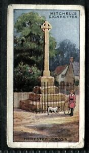 Tobacco Card, Mitchell, FAMOUS CROSSES, 1923, Hempsted Cross, #23