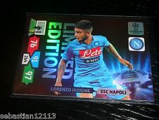 Champions League 2013/2014 Adrenalyn XL Lorenzo Insigne Limited Edition