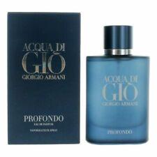 Acqua Di Gio Profondo Giorgio Armani 2.5oz / 75ml Edp Spray *New In Sealed Box*
