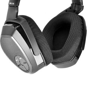 Fabric Ear pads Cushion for sennheiser RS165 RS175 RS185 RS195 HDR Headphones