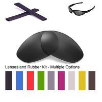 Walleva Lenses and Earsocks for Oakley Minute 2.0 - Multiple Options