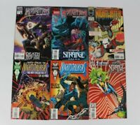 Mixed Lot 6 Marvel Comics X-Factor Midnight Sons Nightwatch Ghost Rider 1994 L37