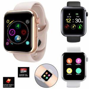 Fashion Women Ladies Smart Watch GSM Phone Wristwatch Fitness Tracker Universal