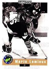 1992 Classic Hockey Draft Promo #2 Mario Lemieux