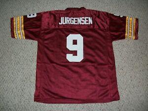 SONNY JURGENSEN Unsigned Custom Burgundy Washington Sewn Football Jersey Sm.-3XL