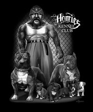 DGA Homies Pitbull Kennel Club Super Soft Royal Plush Blanket Queen Size