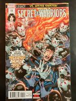 SECRET WARRIORS 11 (2018 MARVEL Comics) ~ VF/NM Comic Book