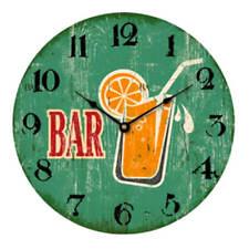 """Reloj de pared 30cm con fijación en Madera Beach Diseño"""" Barra """" Playa Vintage"""