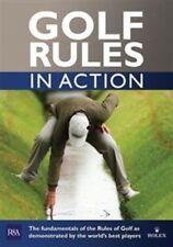 R&A Golf Rules in Action (2012-15 Edition) [DVD], Good DVD, Padraig Harrington,