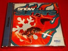 SNOW SURFERS Sega Dreamcast Dc Versione Europea PAL ○ NUOVO SIGILLATO
