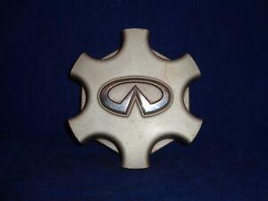 4 OEM Infiniti QX4 Nissan Pathfinder Wheel Center Cap Cover Hubcap Emblem Badge