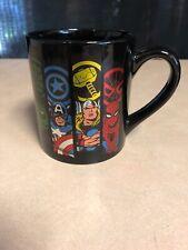 Marvel Group Black  Ceramic Coffee Mug 14-Ounces