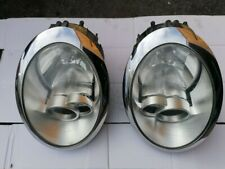 BMW MINI COOPER ONE R50 R52 PAIR OF HEADLAMP HEADLIGHTS 2004-2008